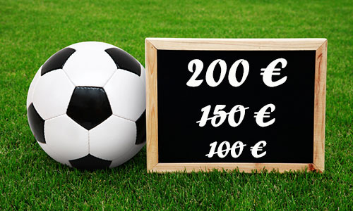 Offres à l'inscription des bookmakers