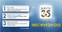 Lancement du bookmaker Paris 365