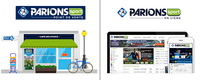 Parions Sport Point de vente et en ligne